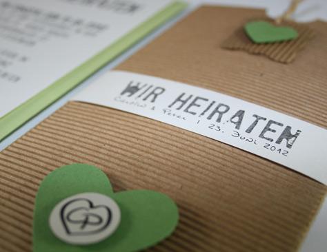Hochzeitskarten Werbeagentur Pfalz Stepp Grafik Dokumentation